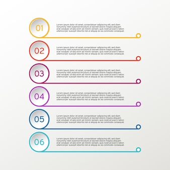 Infográfico de linha. diagramas de negócios.