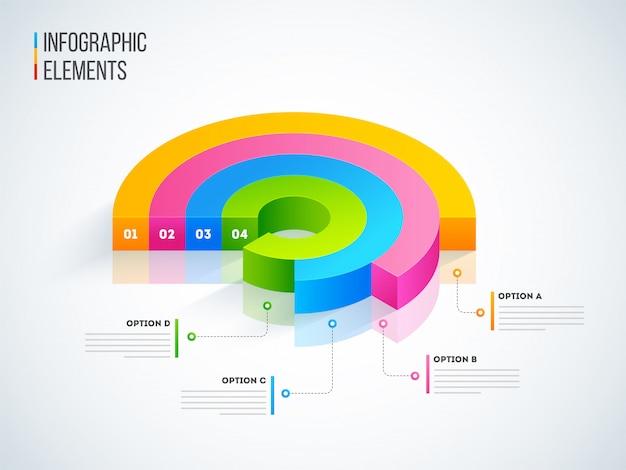 Infográfico de negócios.