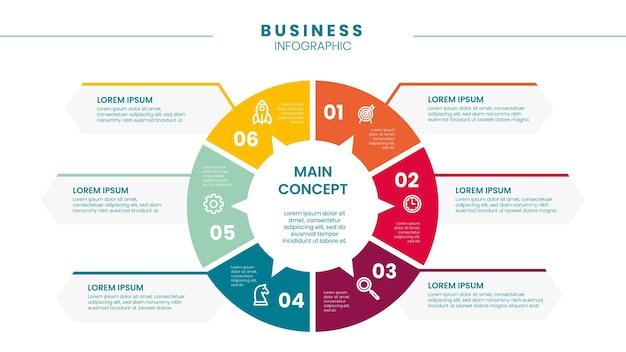 Infográfico de negócios