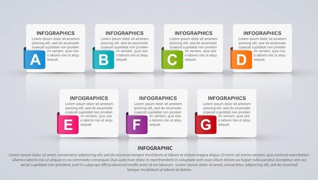 Infográfico de opções de negócios