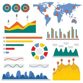 Infográfico de visualização