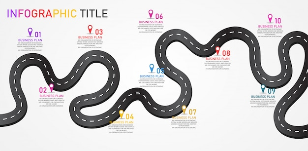 Infográfico design ilustração para processos modernos na forma de apresentações, banners, gráficos, negócios e aplicações educacionais