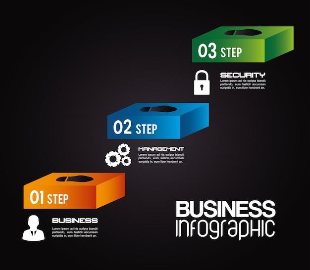 Infográfico design, ilustração vetorial.
