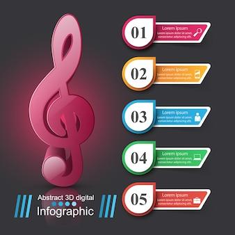 Infográfico design modelo e marketing ícones.