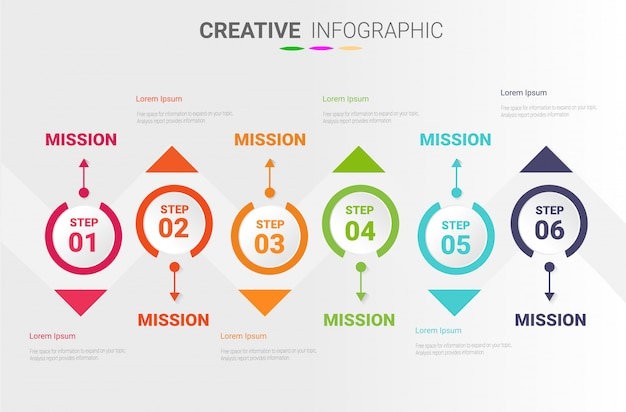 Infográfico design para apresentação.