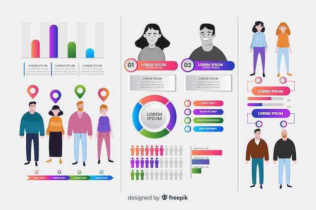 Infográfico humano