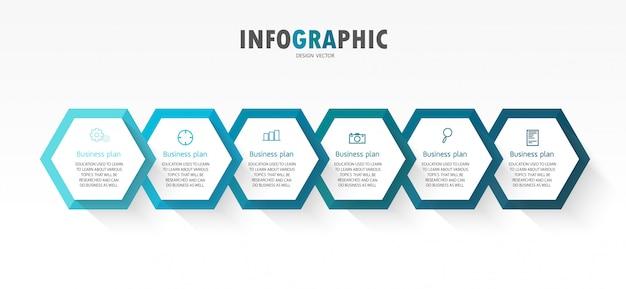 Infográfico modelo com papel 3d
