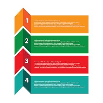 Infográfico moderno para diagrama