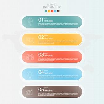 Infográfico para negócios
