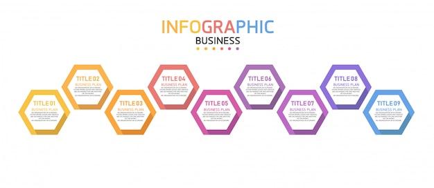 Infográfico pode ser usado para processo, apresentação, layout, banner, gráfico, camada