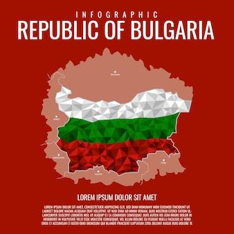 Infográfico república da bulgária