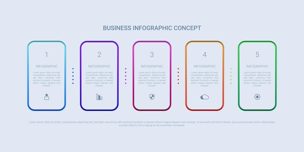 Infográfico simples e moderno