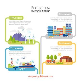 Infográficos do ecossistema