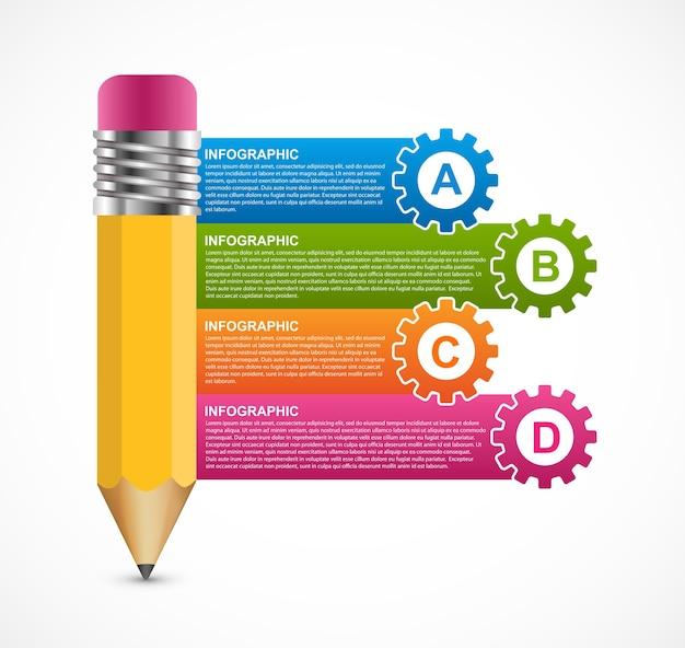 Infográficos para apresentações de negócios