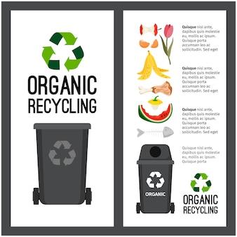 Informação de recipiente cinza de lixo