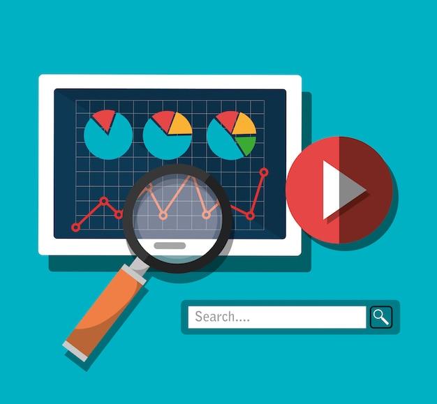 Informações de pesquisa do analytics