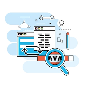 Informações de processo do site para a tecnologia de programação