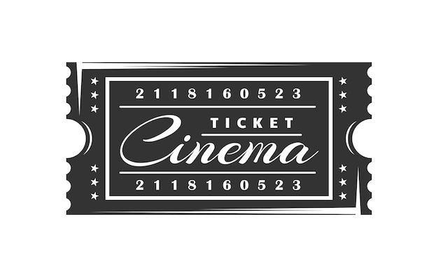 Ingresso de cinema vintage