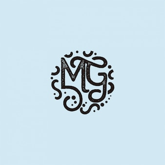 Iniciais do logotipo mg