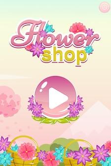 Iniciar interface do usuário do jogo
