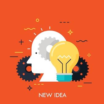 Inovação do novo conceito de ideia