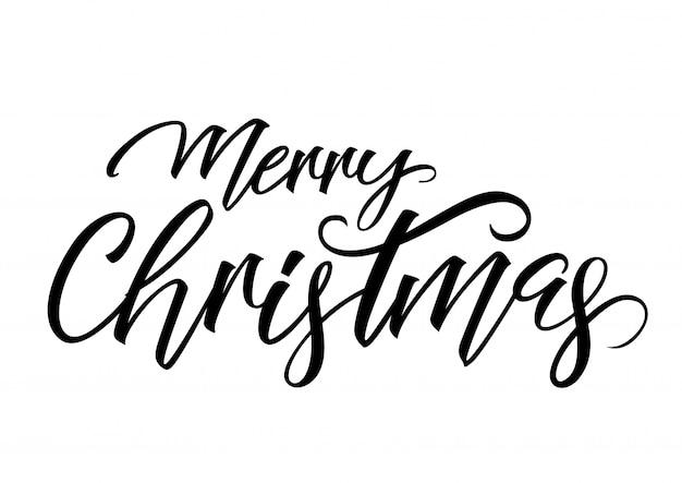 Inscrição do feliz natal
