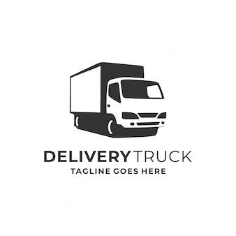 Inspiração de design de logotipo de caminhão.