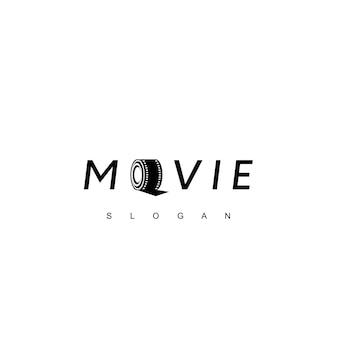 Inspiração de design de logotipo de filme de rolo