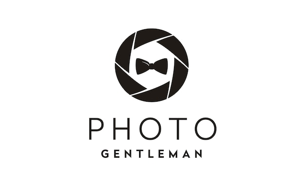 Inspiração de design de logotipo de fotógrafo de moda