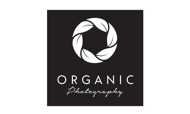 Inspiração de design de logotipo de fotógrafo de natureza
