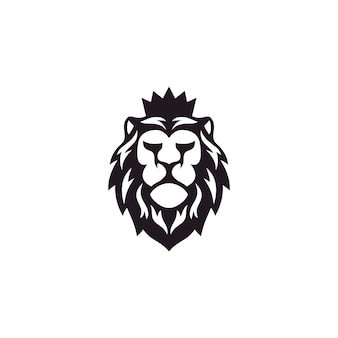Inspiração de design de logotipo de leão incrível