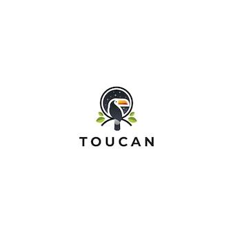 Inspiração de design de logotipo de tucano