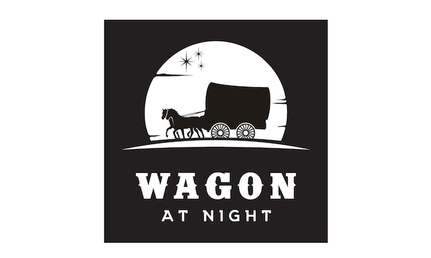 Inspiração de design de logotipo de vagão