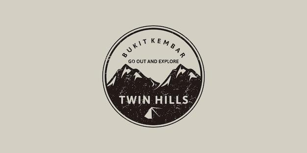 Inspiração de logotipo vintage para branding