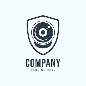 Inspiração do logotipo da agência de segurança digital perfeita para sua marca