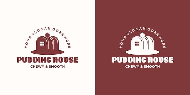 Inspiração do logotipo da casa de pudim.