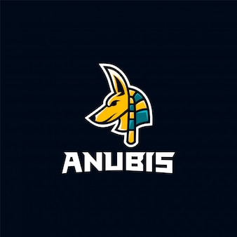 Inspiração impressionante do logotipo do anubis