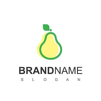 Inspiração para design de logotipo de pêra