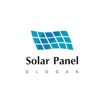 Inspiração para o design de logotipo de energia solar moderna