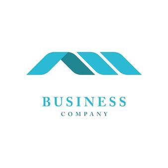 Inspiração para o design de logotipo de luxo premium da creative monogram initials letter an ou aii