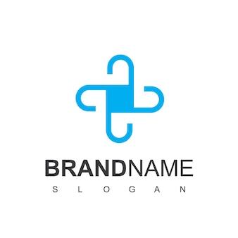 Inspiração para o design de logotipos de cuidados de saúde