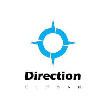 Inspiração para o design do logotipo da compass