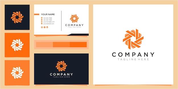 Inspiração para o design do logotipo da comunidade colorida letra b
