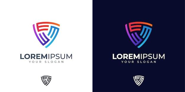 Inspiração para o design do logotipo da letra e