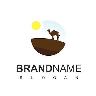 Inspiração para o design do logotipo do deserto