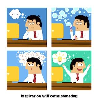Inspiração virá