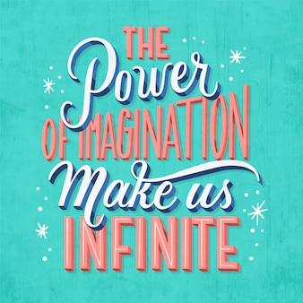 Inspiradora citação criativa