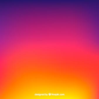 Instagram fundo em cores gradientes