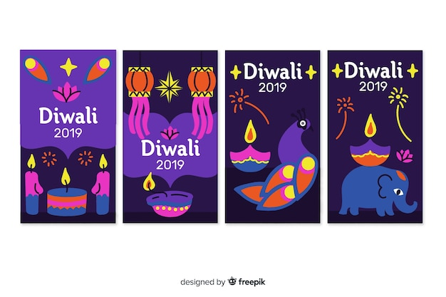 Instagram stories diwali festival
