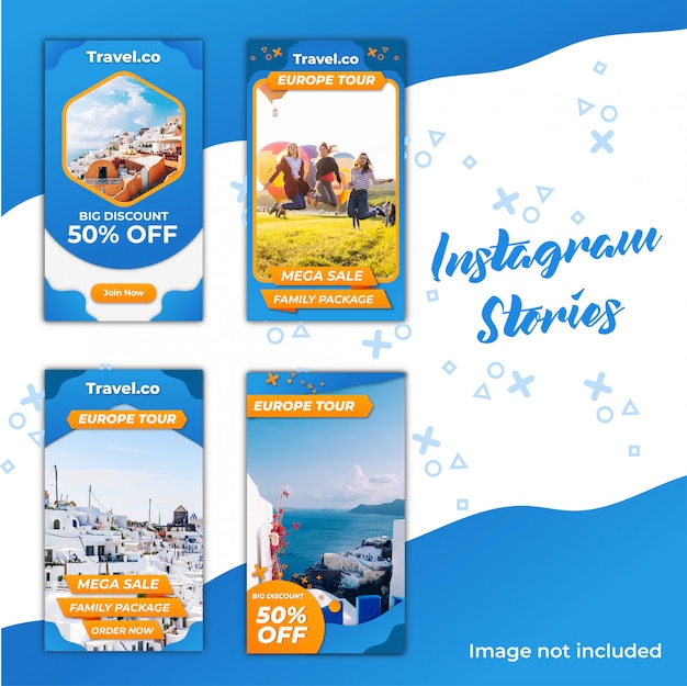 Instagram stories travel discount